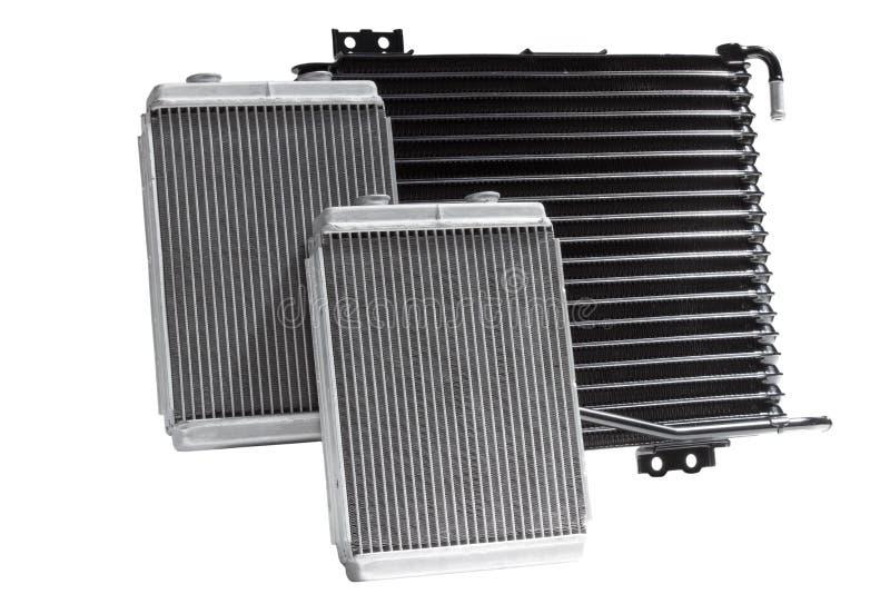Automobiel koelradiators royalty-vrije stock afbeeldingen