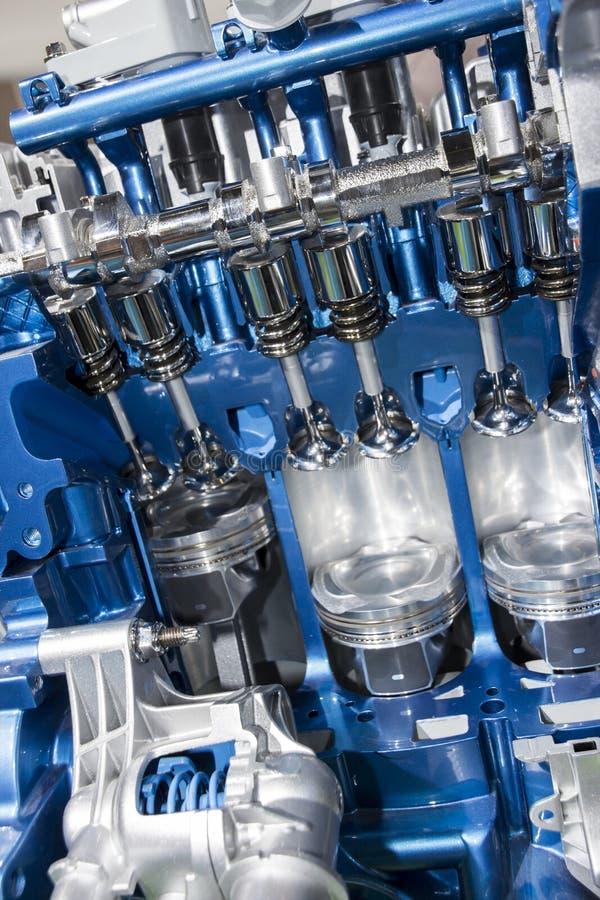 Automobiele motor stock fotografie