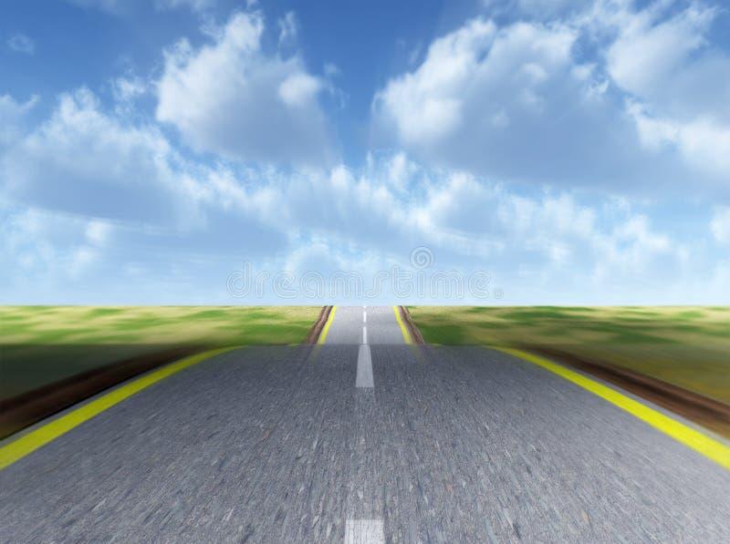 Automobiele weg stock illustratie
