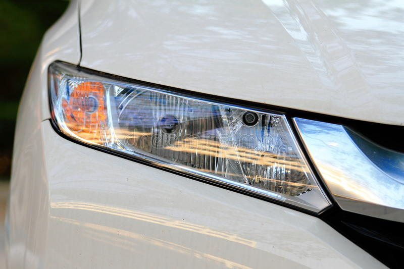 Automobielverlichting royalty-vrije stock afbeelding