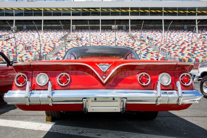 Automobil 1961 Chevy Impalas SS stockfoto