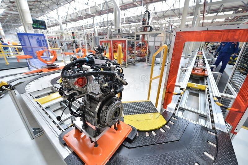 Automobil-Fließband stockfoto
