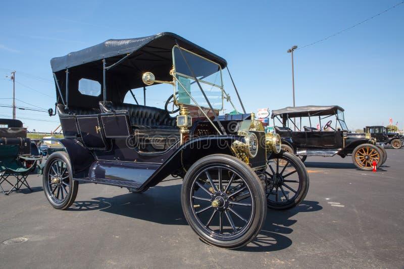 Automobil 1911 Ford Models T stockbilder