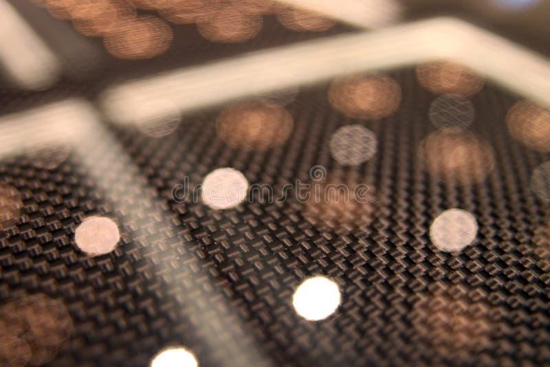Automobil-Kohlenstoff-Faserdetails lizenzfreie stockbilder