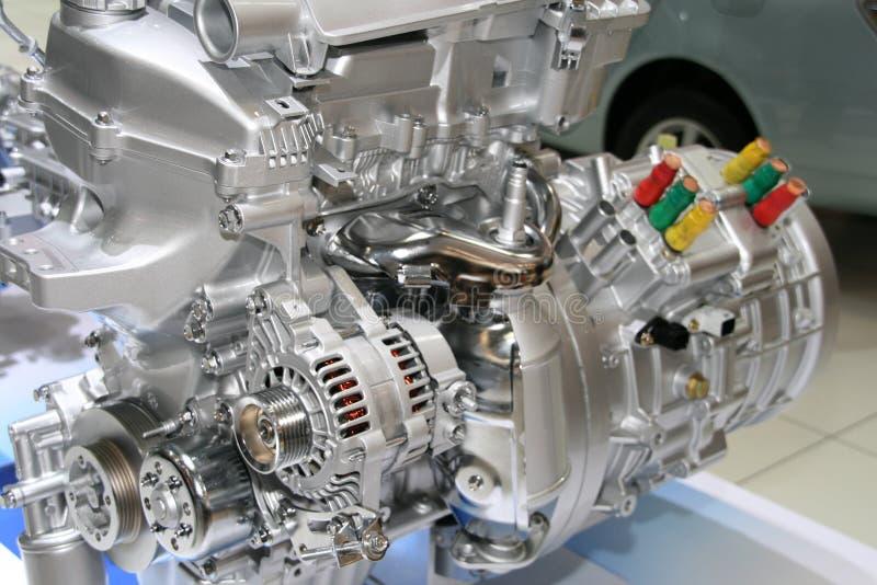 Automobil-Mischling-Motor lizenzfreie stockbilder