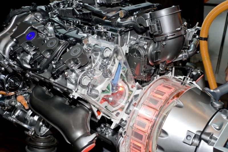 Automobil-Mischling-Motor stockbilder