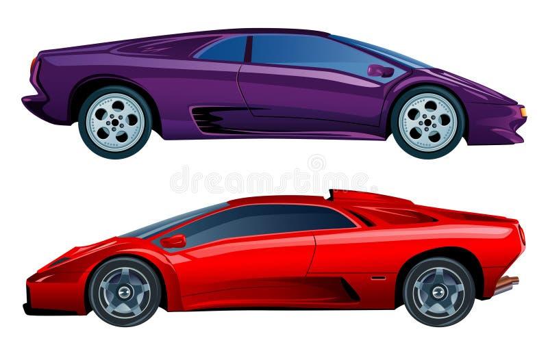 Automobile illustration de vecteur