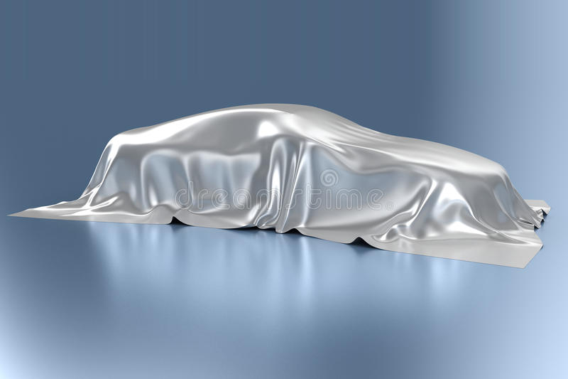Automobile stock illustration