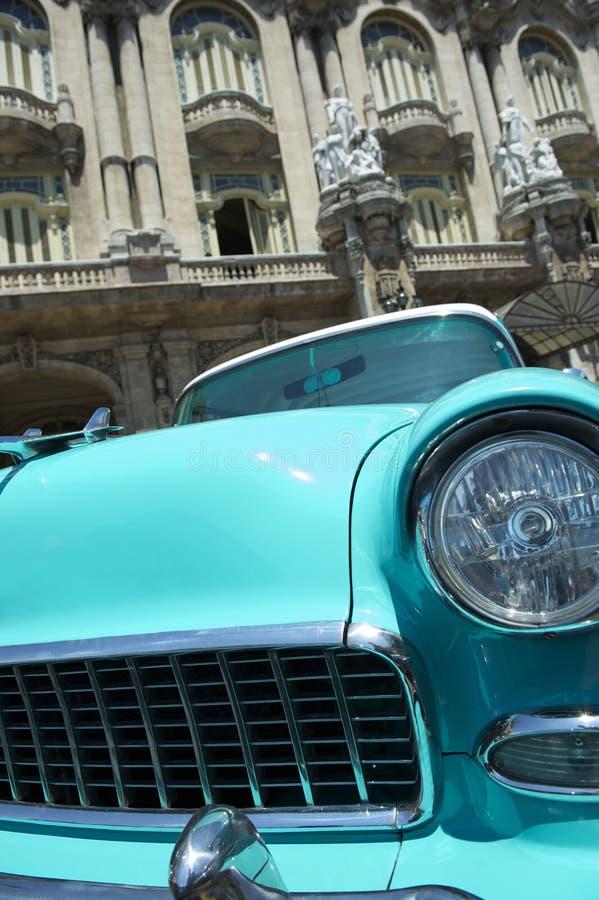 Automobile americana Avana Cuba dell'annata fotografie stock