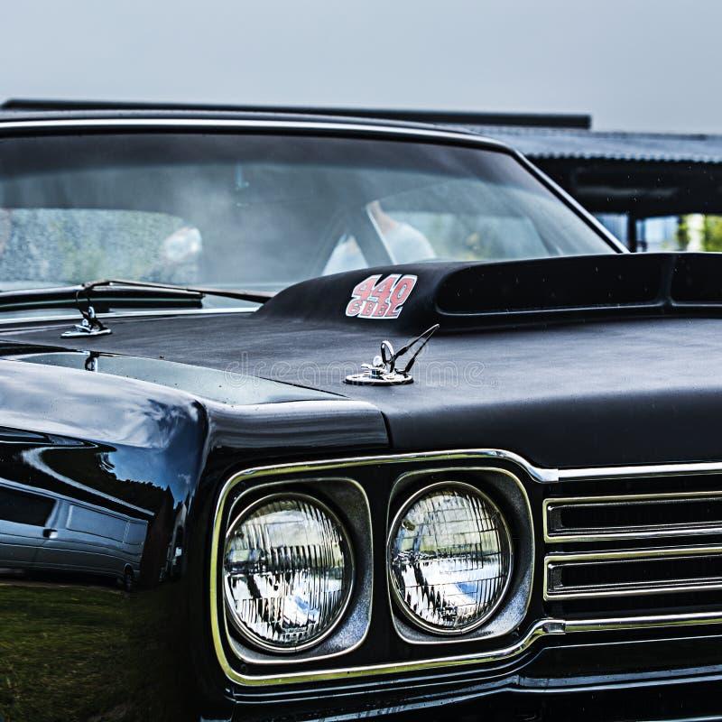 Automobile americana del muscolo, corridore di strada di Plymouth fotografia stock libera da diritti