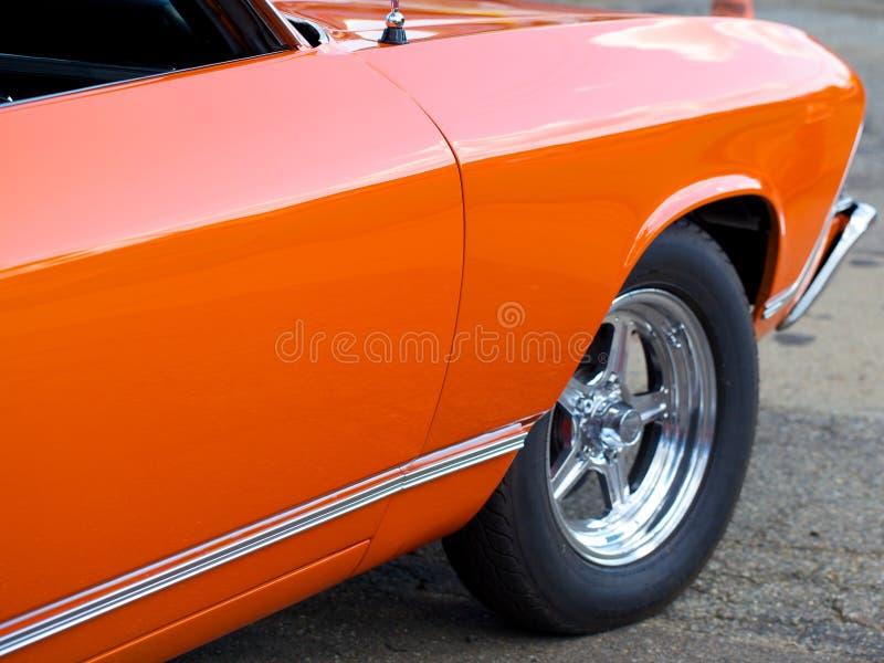 Automobile antica di stato di menta fotografie stock libere da diritti