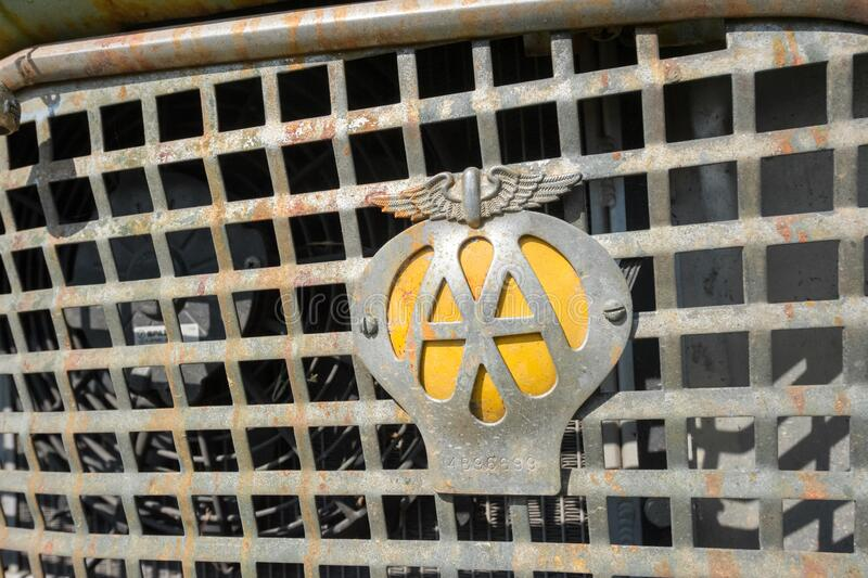 Automobile Association badge royalty free stock images