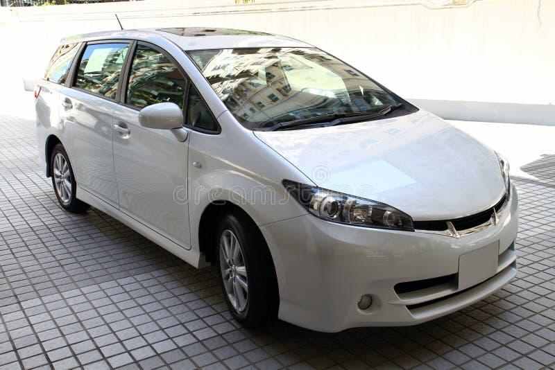 Automobile bianca immagine stock libera da diritti