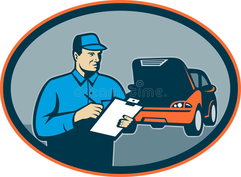 Automobile car repair mechanic