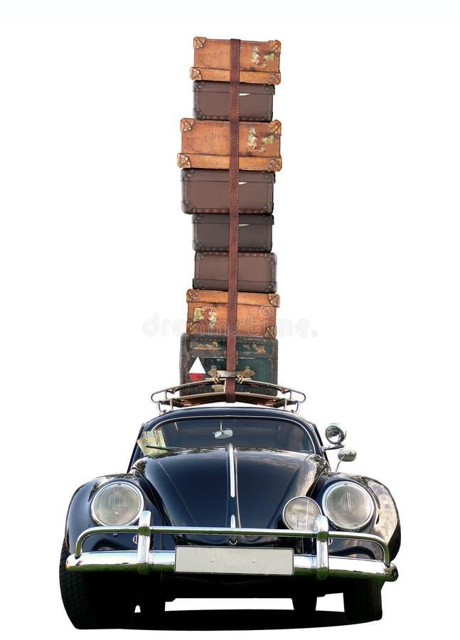 Automobile che viaggia - stile classico fotografia stock libera da diritti