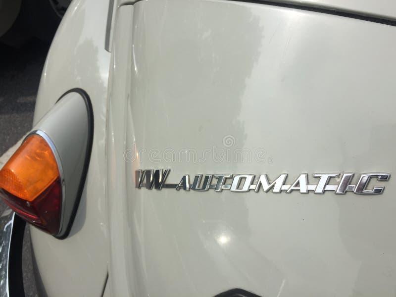 Automobile classica automatica di Vw fotografia stock libera da diritti
