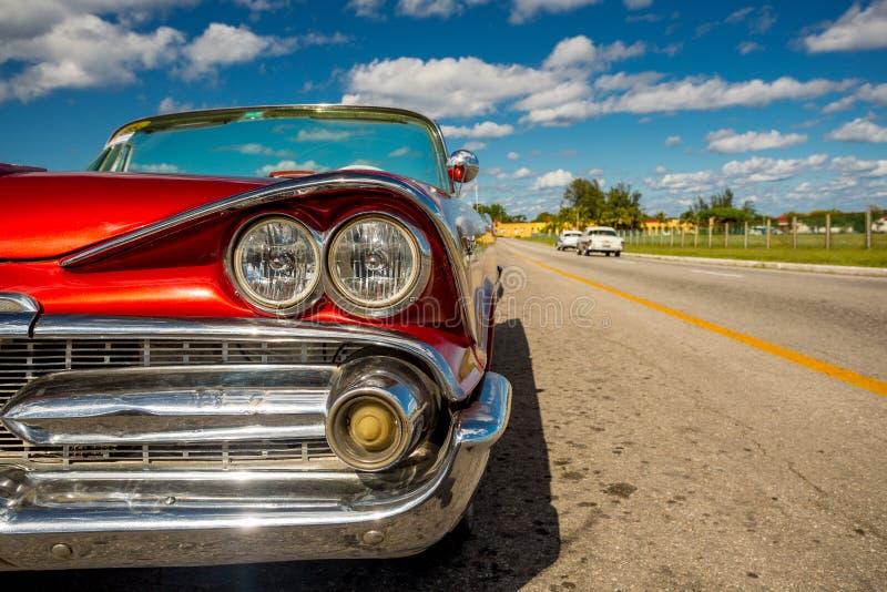 Automobile classica a Avana, Cuba immagini stock