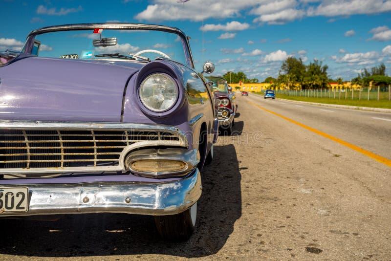 Automobile classica a Avana, Cuba immagini stock libere da diritti