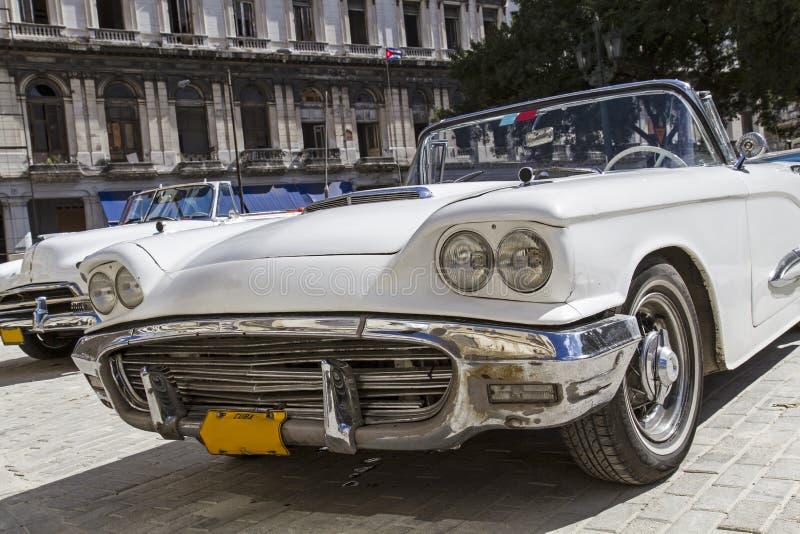 Automobile classica dell'annata a Avana, Cuba fotografia stock libera da diritti