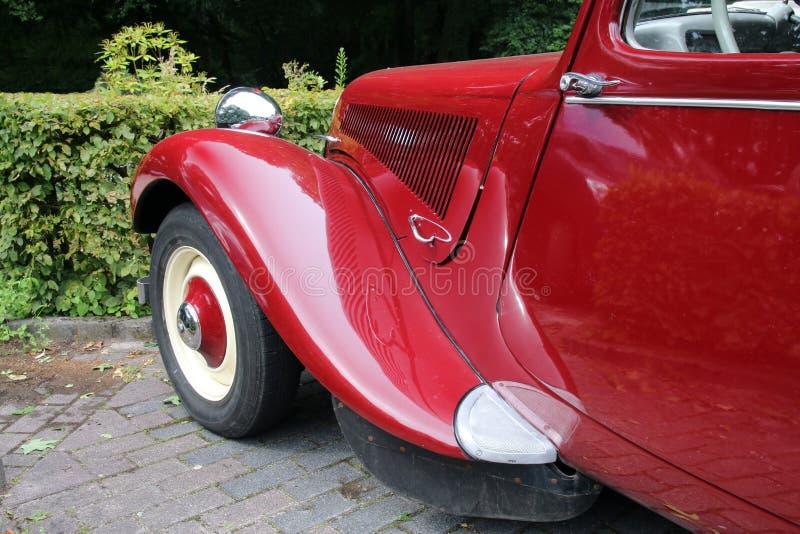Automobile classica francese della marca Citroen immagine stock libera da diritti