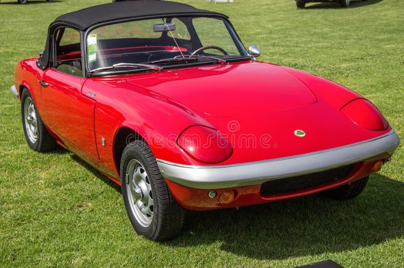 Automobile classica Lotus Elan-S2 fotografia stock libera da diritti