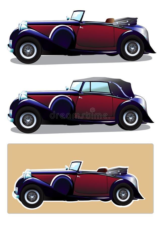 Download Automobile d'annata illustrazione vettoriale. Illustrazione di classico - 30825295