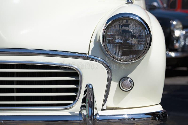 Automobile d'annata, luce capa immagine stock