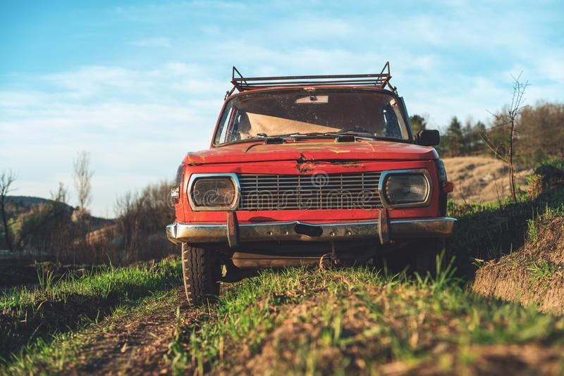 Automobile d'annata Off Road fotografia stock