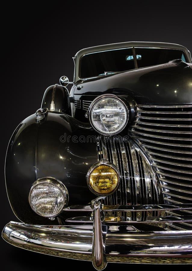 automobile d'annata, primo piano fotografia stock libera da diritti