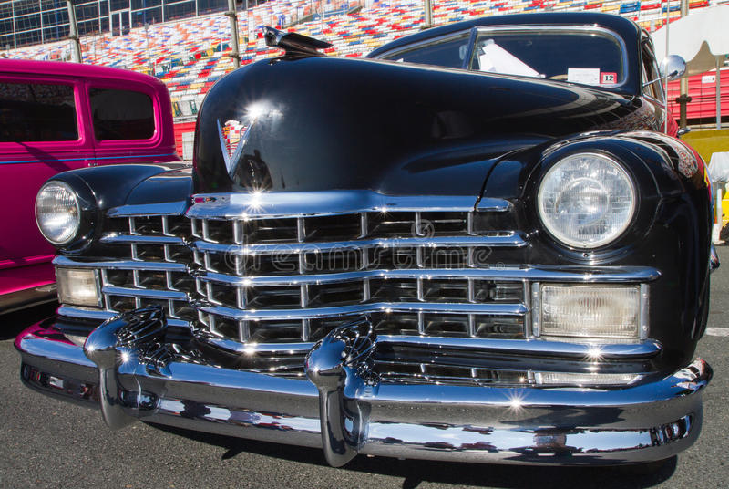 Automobile 1947 de Cadillac de classique image libre de droits