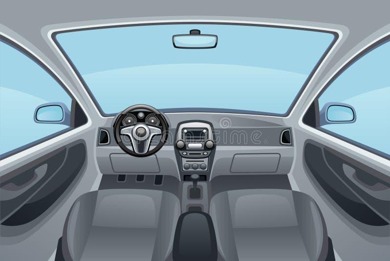 Automobile de salon illustration stock