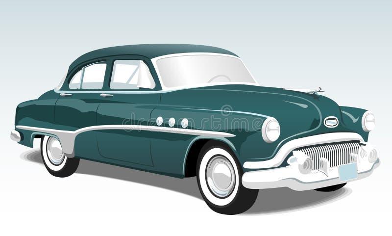 Automobile del classico dell'annata illustrazione vettoriale