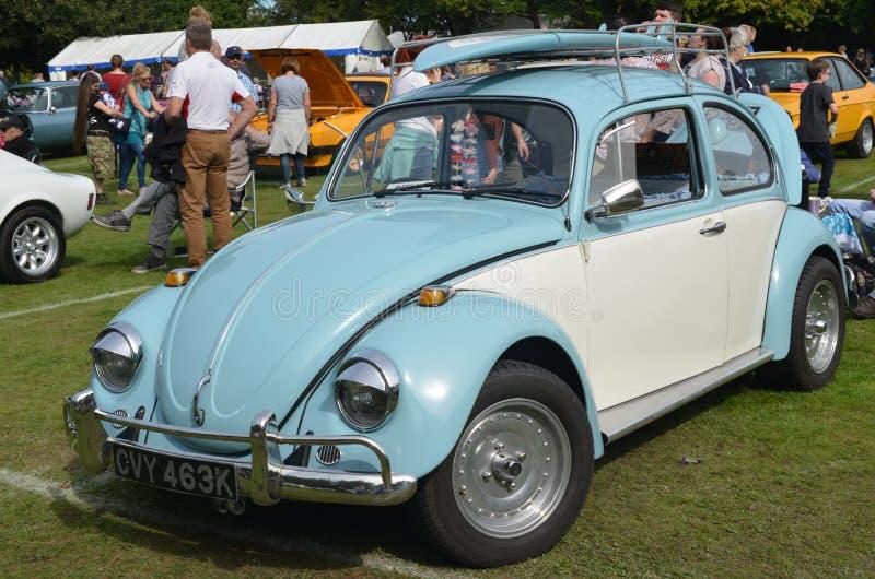 Automobile del classico dello scarabeo di VW fotografia stock