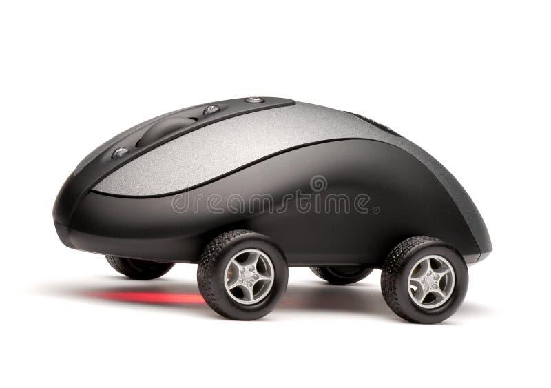 Automobile del mouse del calcolatore fotografie stock