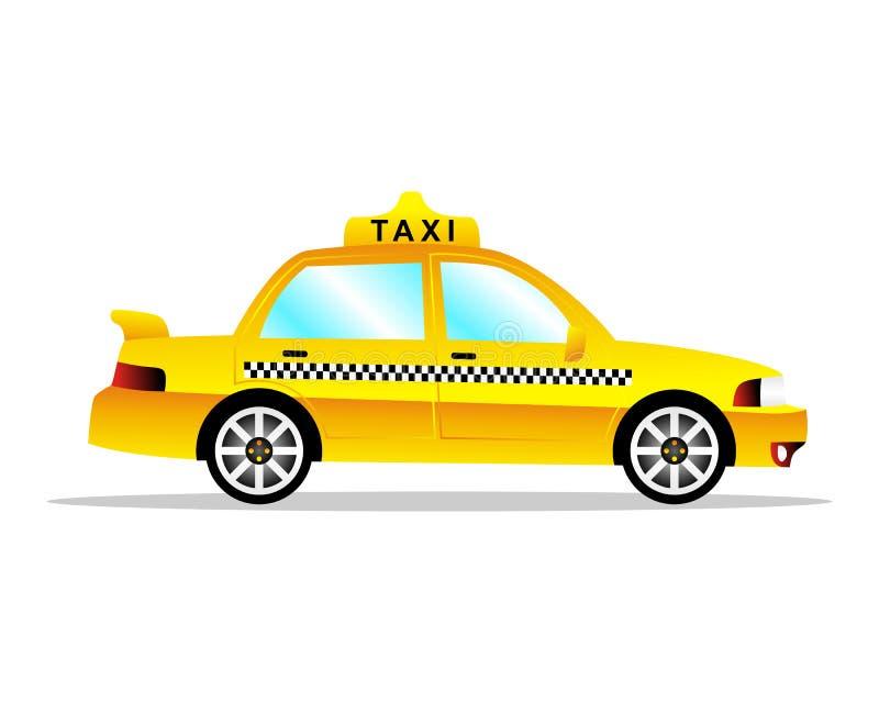 Automobile del taxi immagini stock