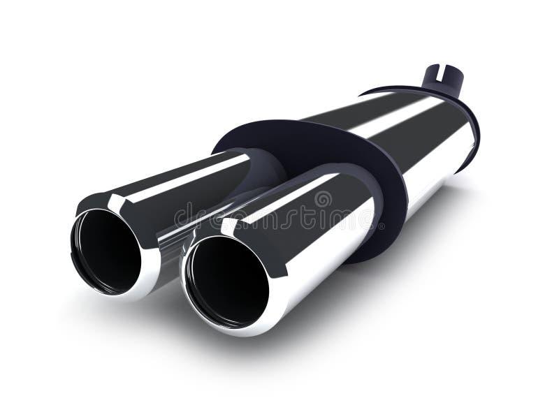Automobile del tubo illustrazione vettoriale