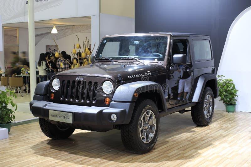 Automobile del wrangler della jeep fotografia stock