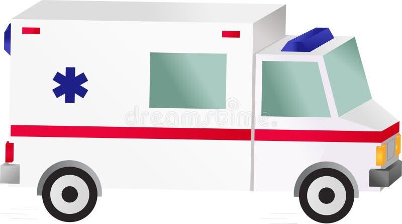 Automobile dell'ambulanza immagini stock