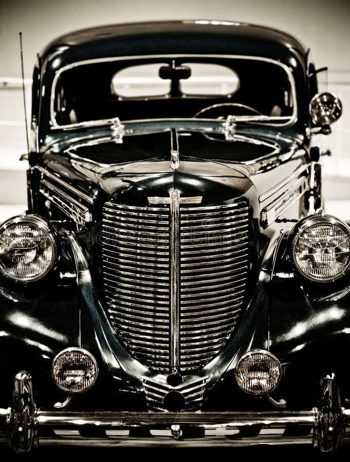 Automobile dell'annata immagine stock