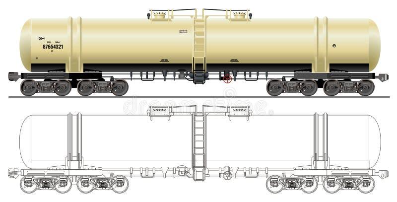 Automobile dell'autocisterna benzina/del petrolio fotografia stock
