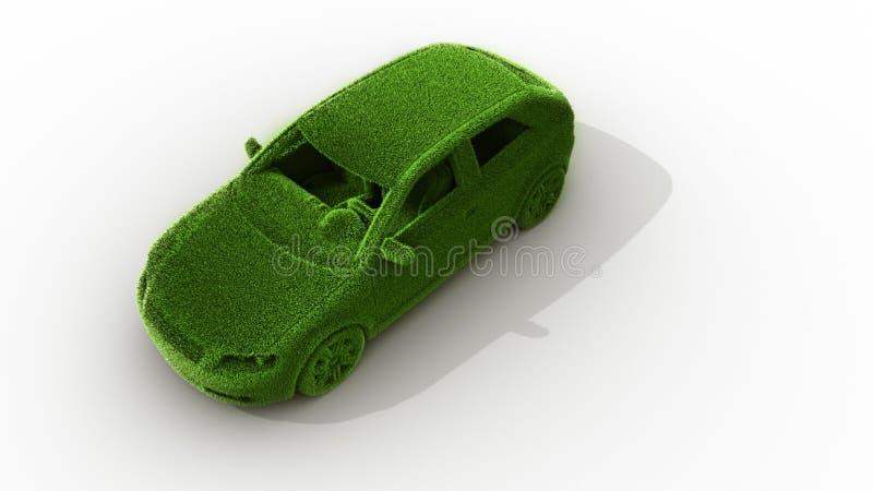 Automobile dell'erba verde royalty illustrazione gratis