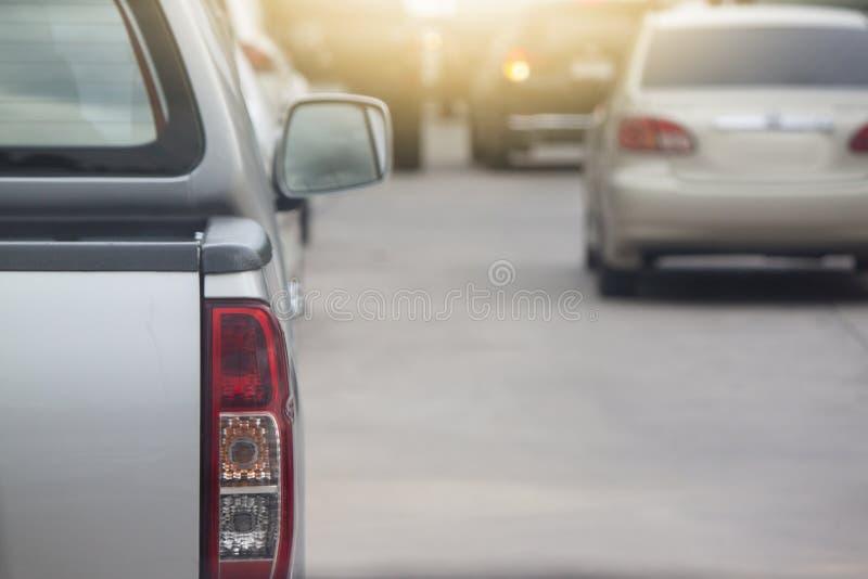 Automobile della raccolta sulla strada immagine stock libera da diritti