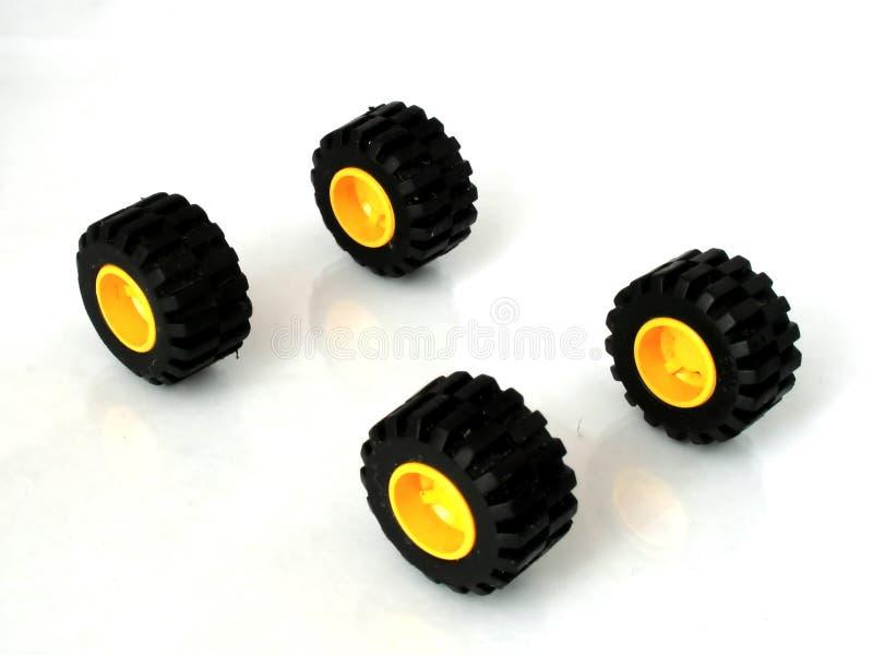 Automobile della rotella immagine stock