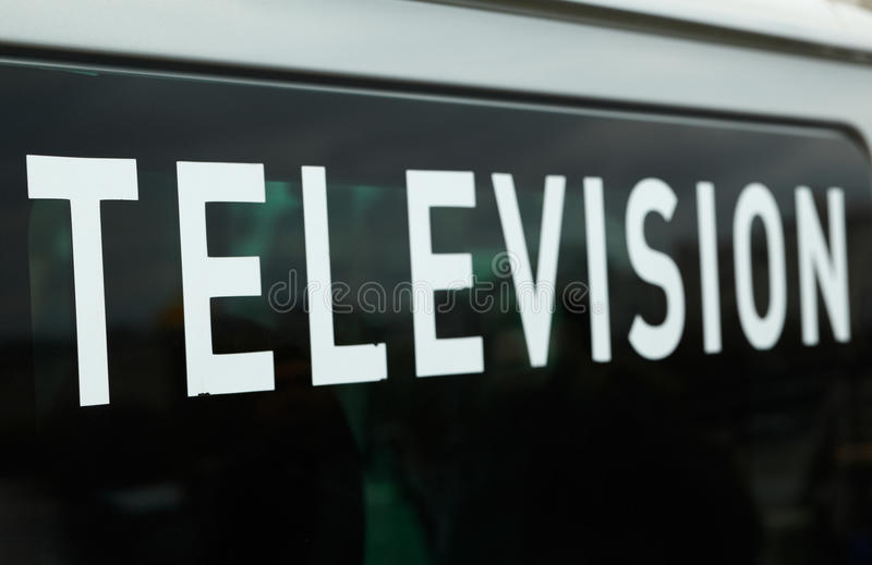 Download Automobile Della Televisione. Fotografia Stock - Immagine di iscrizione, finestra: 30826874