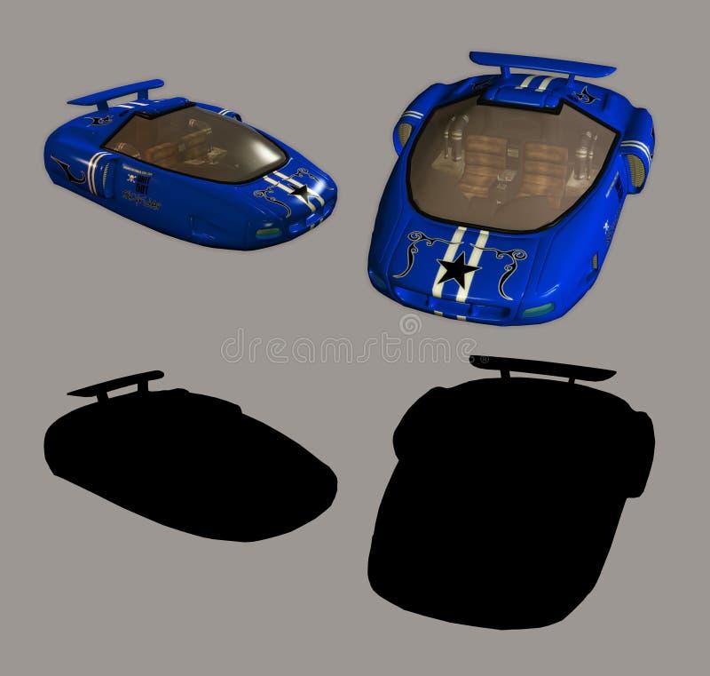 Automobile dello spazio illustrazione vettoriale