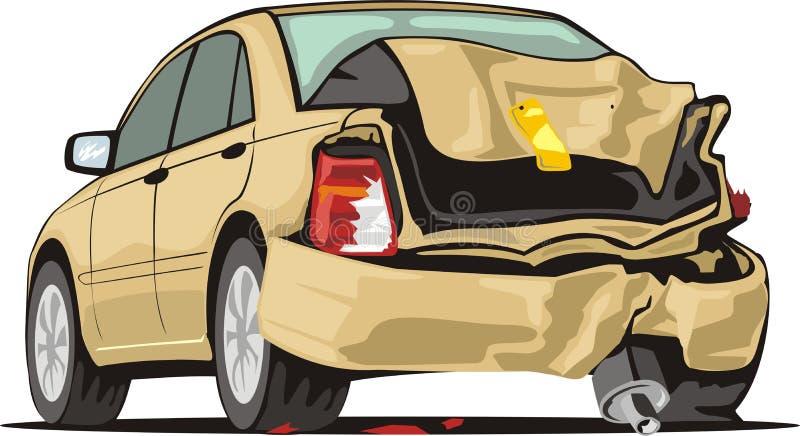 Automobile di arresto illustrazione di stock