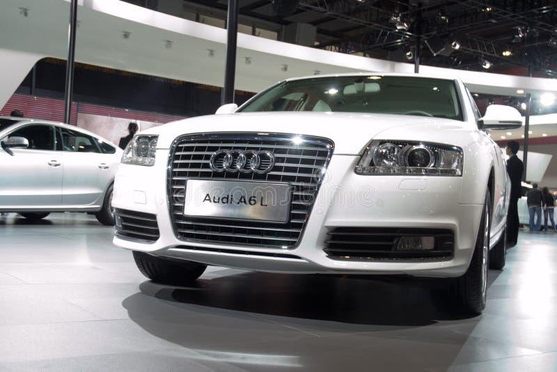 Automobile di Audi A6L fotografie stock libere da diritti