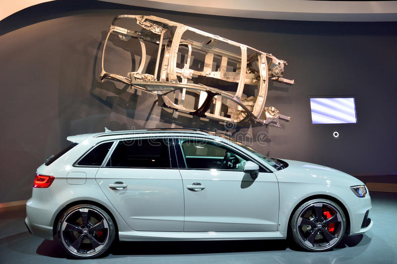 Automobile di Audi RS3 immagini stock