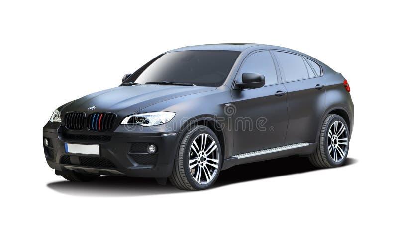 Automobile di BMW SUV X6M immagini stock libere da diritti