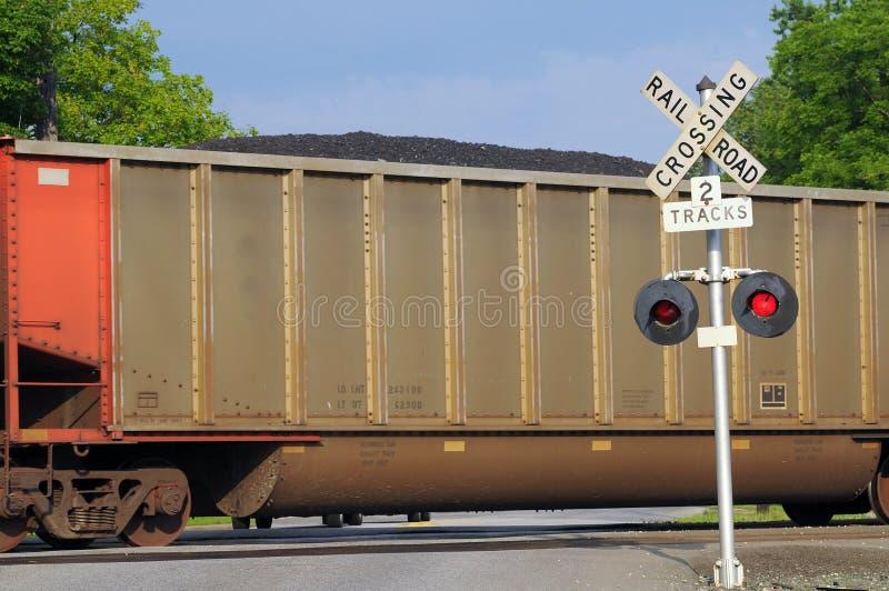 Automobile di carbone fotografie stock